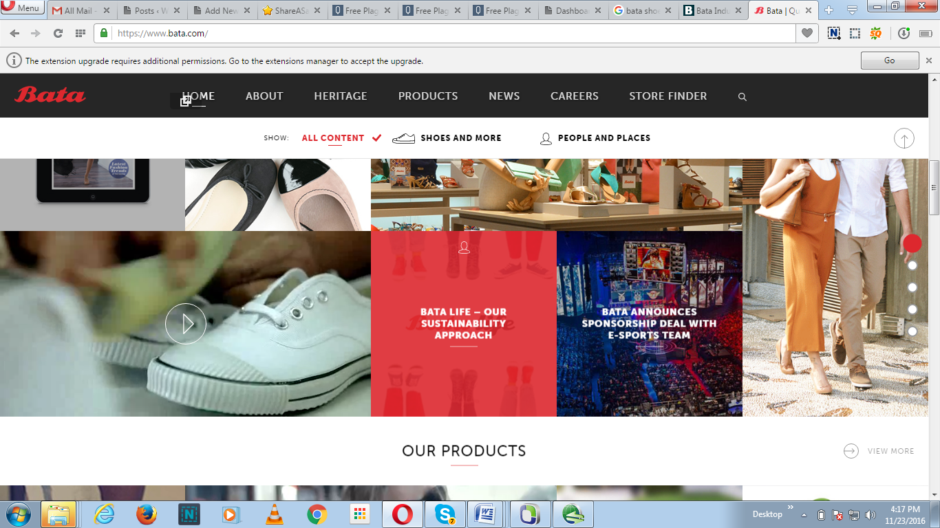Online shoe shopping south africa