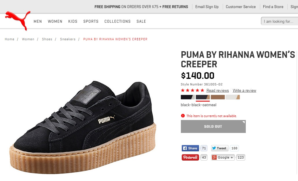 puma creeper us